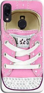 All Star Basket shoes Pink Diamonds for Xiaomi Redmi Note 7