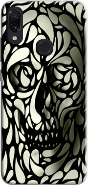 Skull Zebra White And Black Case for Xiaomi Redmi Note 7