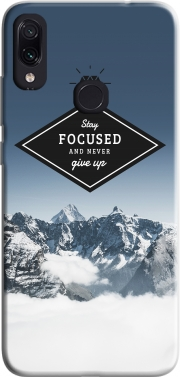 Stay focused Case for Xiaomi Redmi Note 7