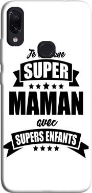 Super maman avec super enfants Case for Xiaomi Redmi Note 7