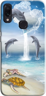 The Heart Of The Dolphins Case for Xiaomi Redmi Note 7