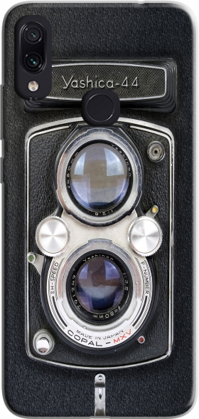 Case Vintage Camera Yashica-44 for Xiaomi Redmi Note 7