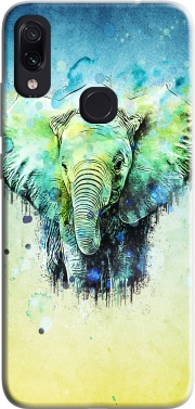 watercolor elephant Case for Xiaomi Redmi Note 7