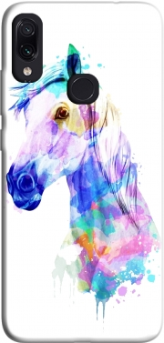 watercolor horse Case for Xiaomi Redmi Note 7