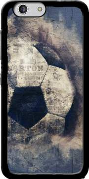 Abstract Blue Grunge Football Case for Zte Blade A512