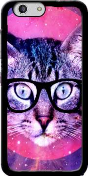 Cat Hipster Case for Zte Blade A512