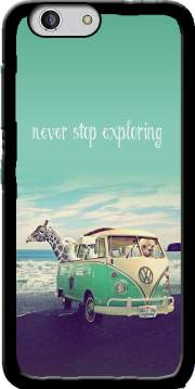 Never Stop Exploring - Lamas on Holidays Case for Zte Blade A512