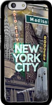 New York City II [green] Case for Zte Blade A512