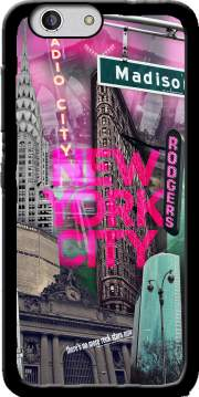 New York City II [pink] Case for Zte Blade A512