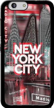 New York City II [red] Case for Zte Blade A512