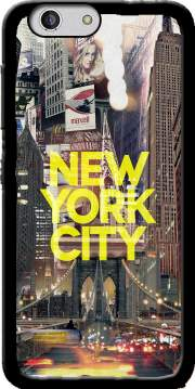 New York City II [yellow] Case for Zte Blade A512