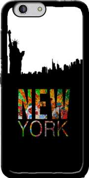 New York Case for Zte Blade A512