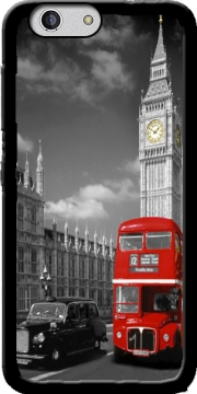 Red bus of London with Big Ben Case for Zte Blade A512