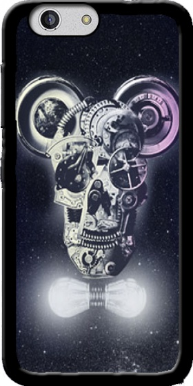 Case Skull Mickey Mechanics in space for Zte Blade A512