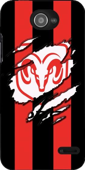 Fan Driver Dodge Viper Griffe Art case for Zte Blade Apex 2