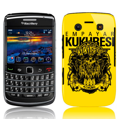 Custom Blackberry Bold 9780 hard case
