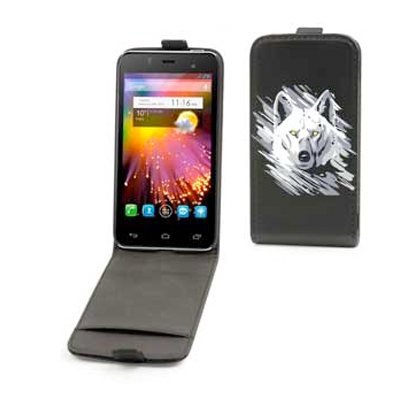 Alcatel One Touch Star vertical flip case