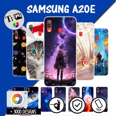 Custom Samsung Galaxy A20E hard case