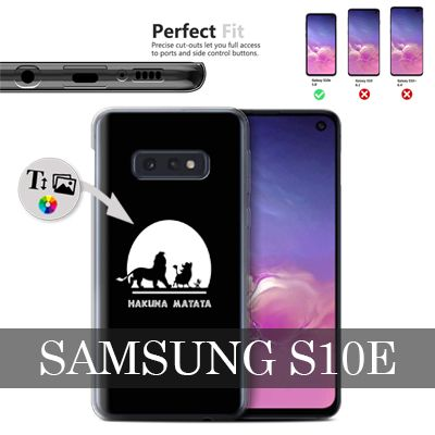 Custom Samsung Galaxy S10e hard case