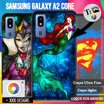 Custom Samsung Galaxy A2 Core hard case