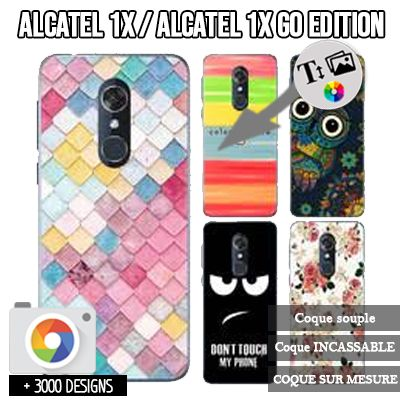 Custom Alcatel 1X silicone case