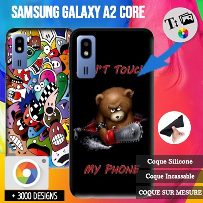 Custom Samsung Galaxy A2 Core silicone case