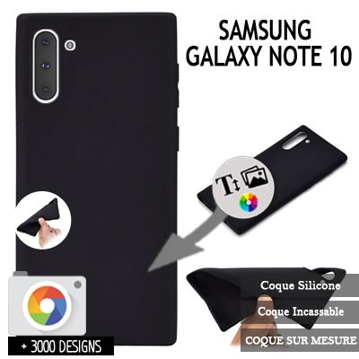 Custom Samsung Galaxy Note 10 silicone case