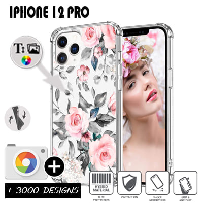 Custom iPhone 12 Pro silicone case