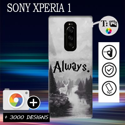Custom Sony Xperia 1 hard case