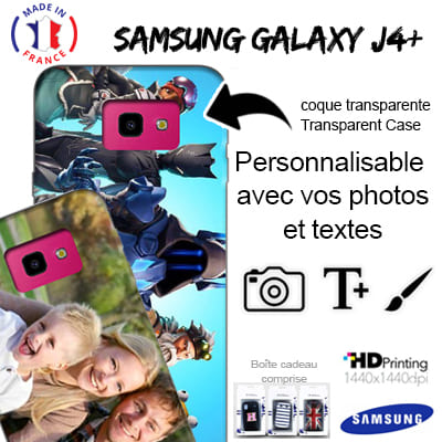 Custom Samsung Galaxy J4+ hard case