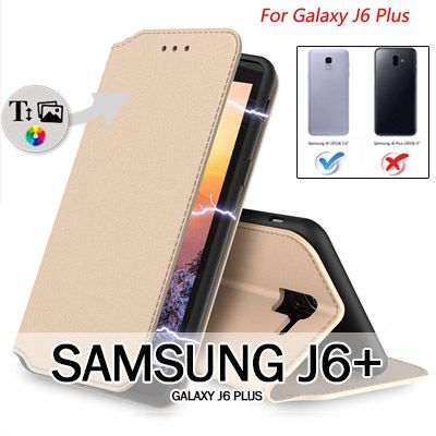 Samsung Galaxy J6+ book case