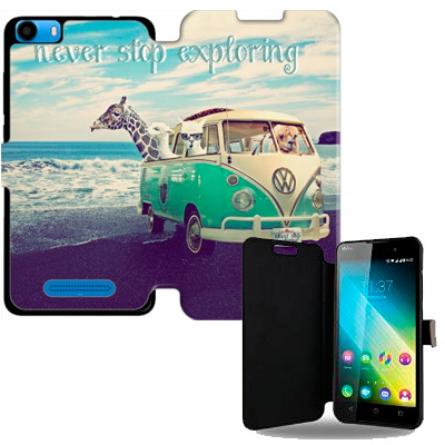 Custom Wiko Lenny 2 wallet case