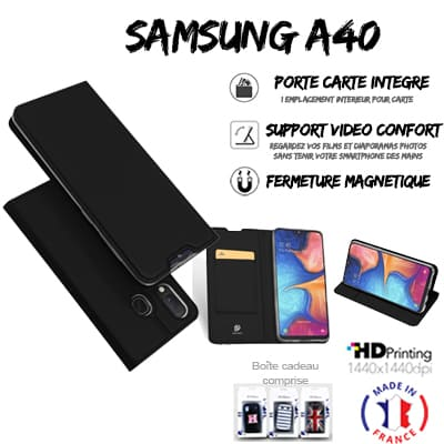 Samsung Galaxy A40 book case