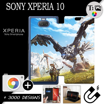 Custom Sony Xperia 10 wallet case