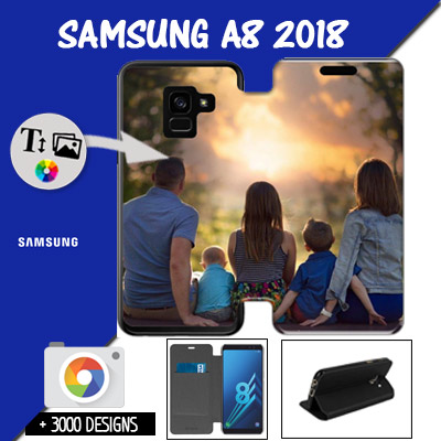 Custom Samsung Galaxy A8 - 2018 wallet case