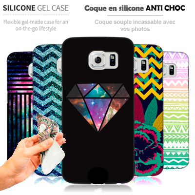 Custom Samsung Galaxy S7 Edge silicone case