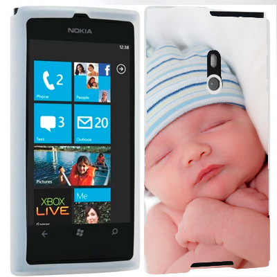 Custom Nokia Lumia 800 silicone case