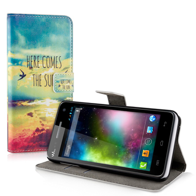 Custom Wiko Rainbow 4G wallet case