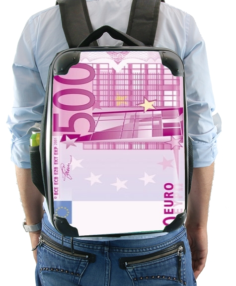 500 euros money for Backpack