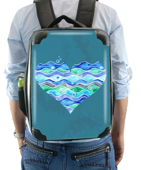 A Sea of Love (blue) for Backpack