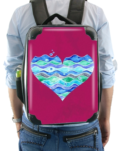 A sea of Love (purple) for Backpack