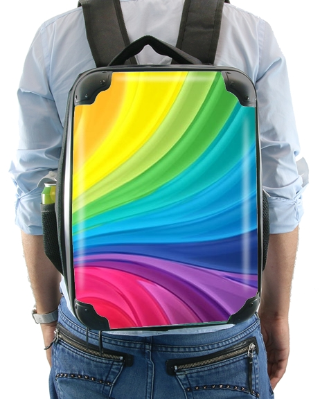 Rainbow Abstract for Backpack