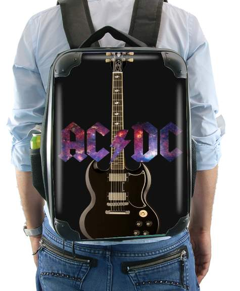 AcDc Guitare Gibson Angus for Backpack