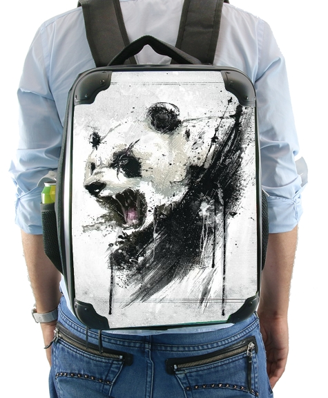 Angry Panda for Backpack