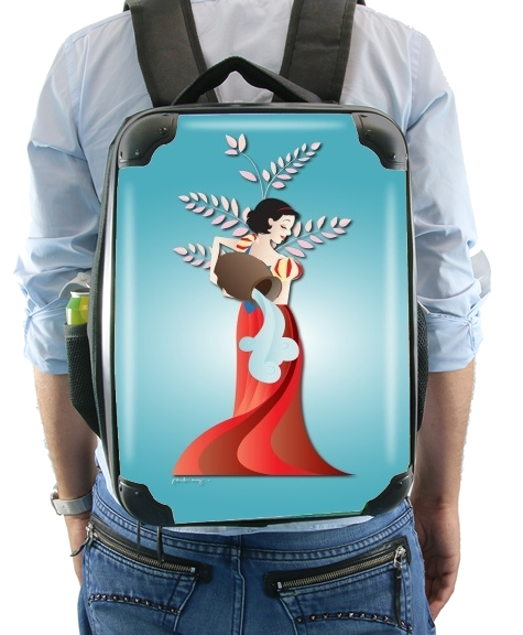Aquarius - Snow White for Backpack