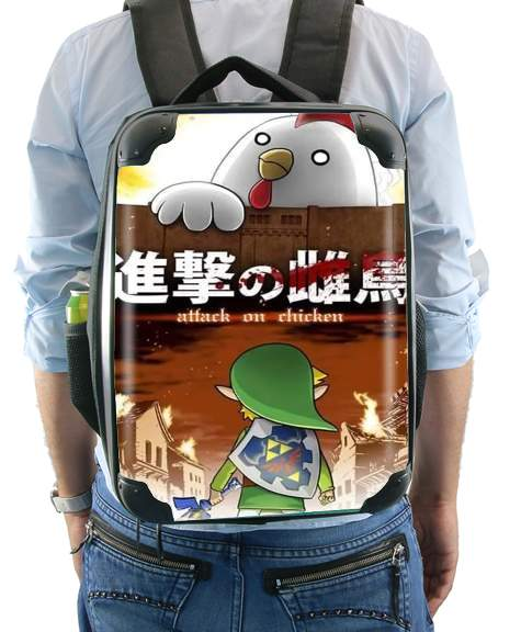 Attack On Chicken for Backpack