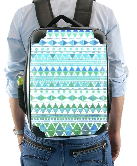 Aztec Aqua for Backpack
