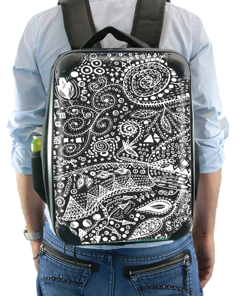 Aztec B&W (Handmade) for Backpack