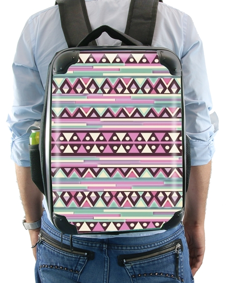 Aztec Pink And Mint for Backpack