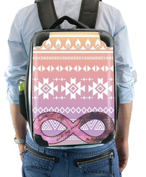 Pink Aztec Infinity for Backpack